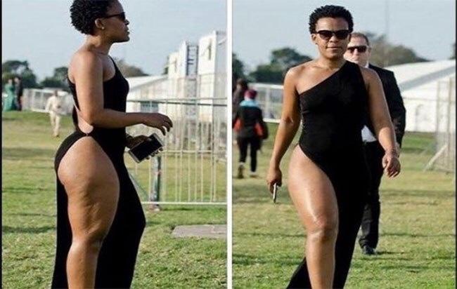 Zambie la danseuse sud africaine qui ne porte pas de slip expuls e du territoire la raison - Je ne porte pas de sous vetements ...